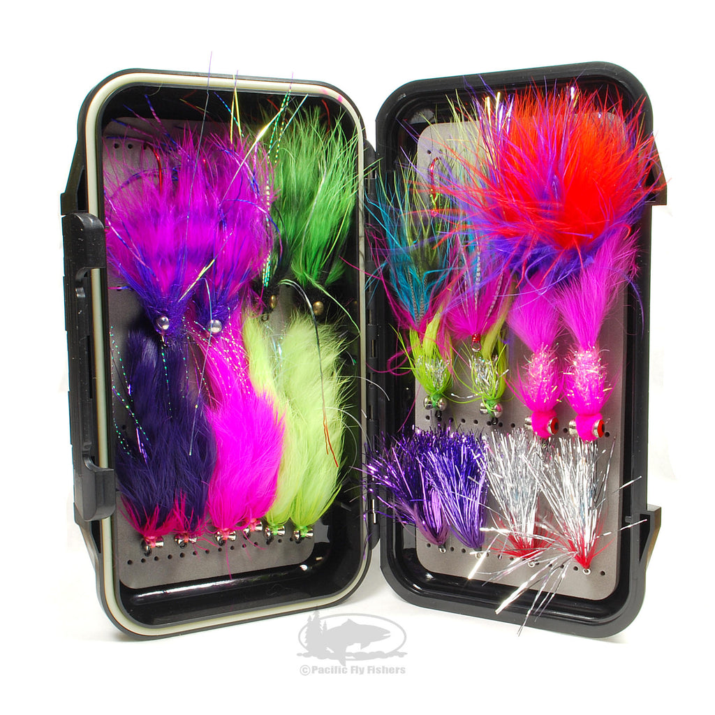 Alaska Silver Salmon Fly Selection - Flies for Alaska Silver Salmon