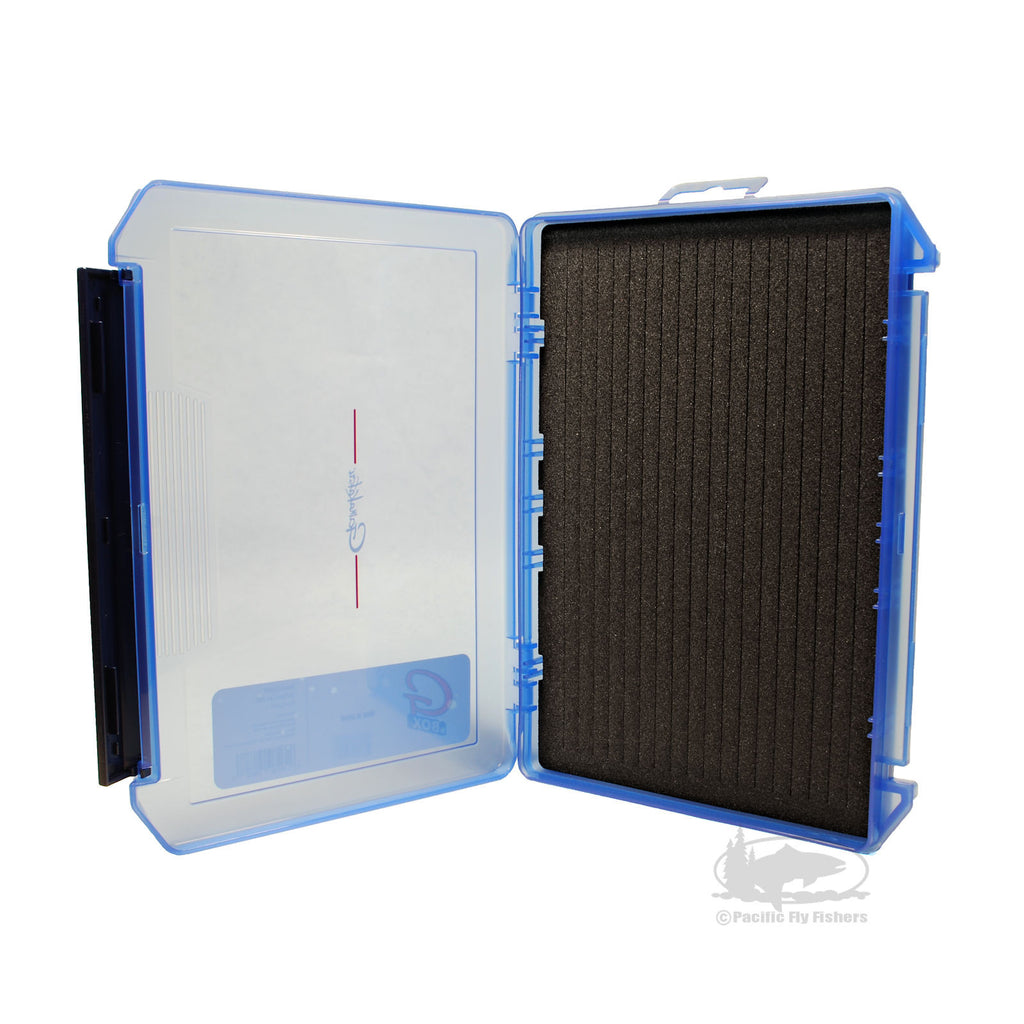 Gamakatsu G-Box - 3600 Slit Foam Case - open
