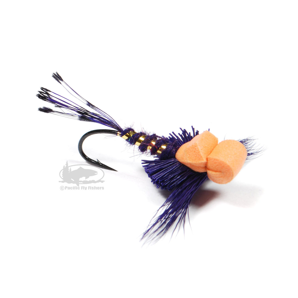 Gerath's Curb Feeler - Purple - Steelhead Dry Fly