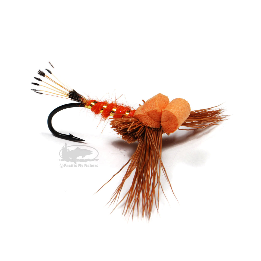 Gerath's Curb Feeler - Rust - Steelhead Skater Dry Fly