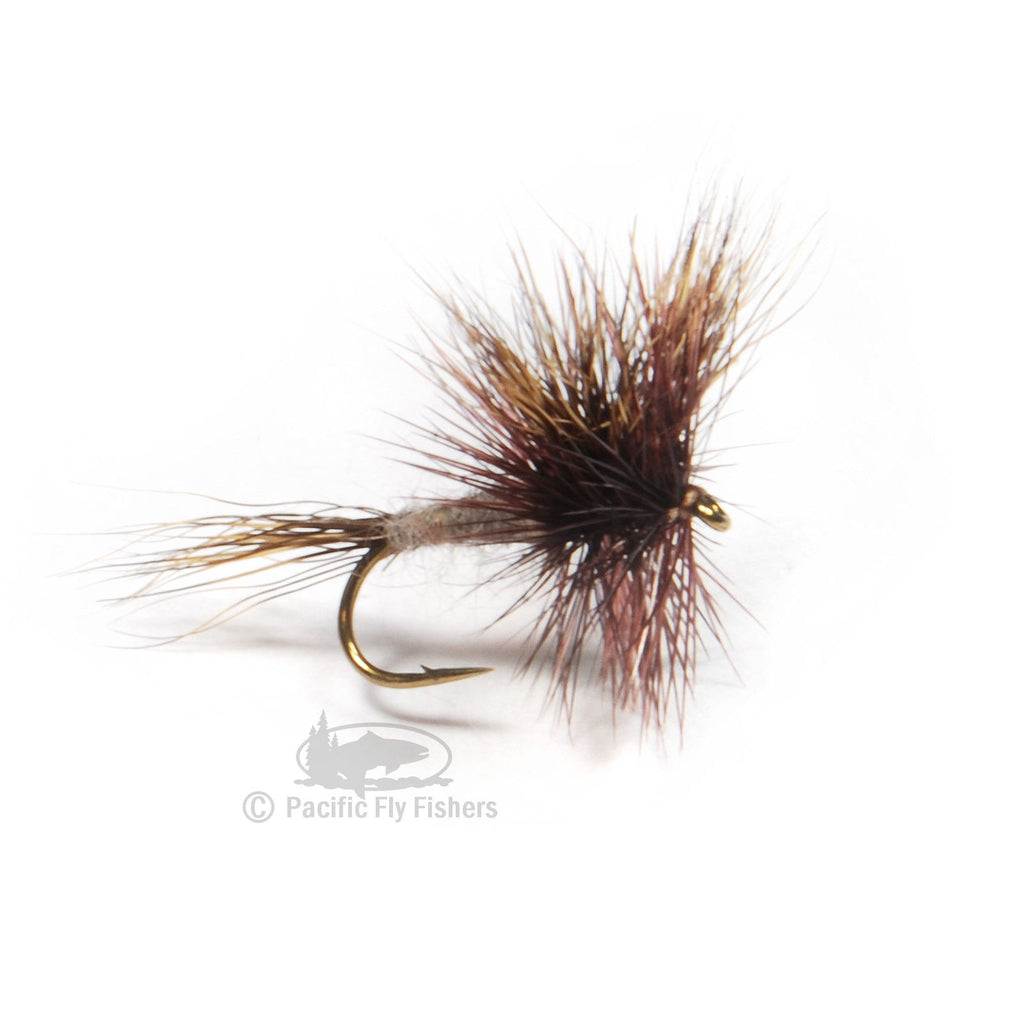 Gray Wulff - Pacific Fly Fishers
