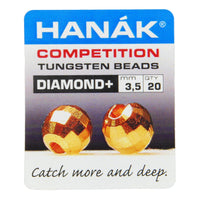 HANÁK Competition Tungsten Beads - Diamond+