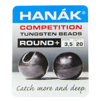 HANÁK Competition Tungsten Beads - Round+