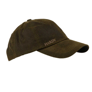 Hardy Waxed Cap - Brown - Pacific Fly Fishers