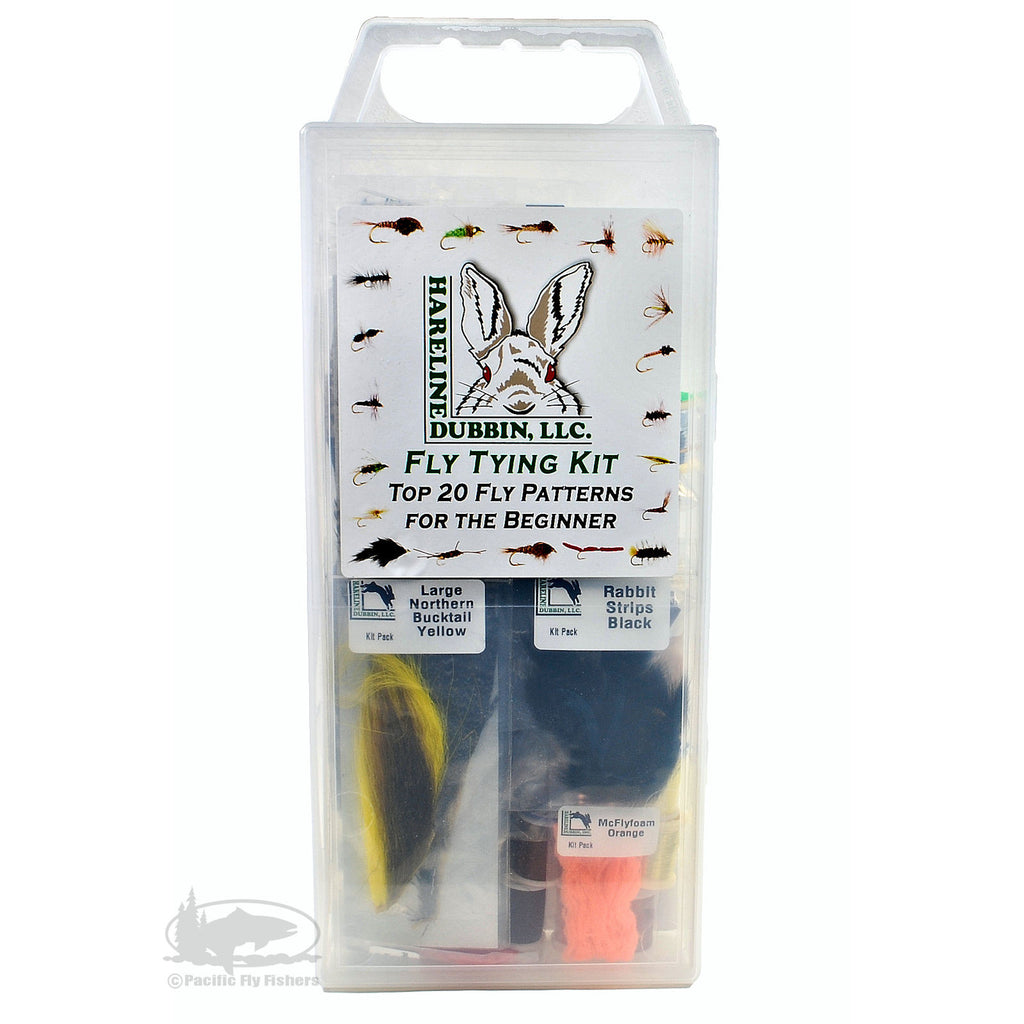 Hareline Fly Tying Kit - Pacific Fly Fishers