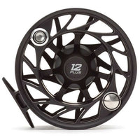 Hatch Gen 2 Finatic Large Arbor Reel - 12 Plus - Black Silver