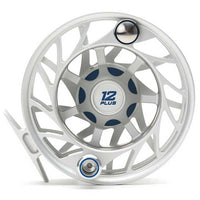 Hatch Gen 2 Finatic Large Arbor Reel - 12 Plus - Clear Blue