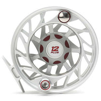 Hatch Gen 2 Finatic Large Arbor Reel - 12 Plus - Clear Red