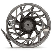 Hatch Gen 2 Finatic Large Arbor Reel - 12 Plus - Gray Black