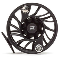 Hatch Gen 2 Finatic Fly Reels - Mid Arbor - 12 Plus - Black Silver