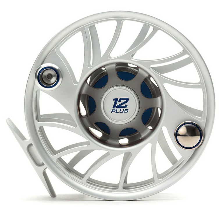 Hatch Gen 2 Finatic Fly Reels - Mid Arbor - 12 Plus - Clear Blue