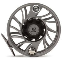 Hatch Gen 2 Finatic Fly Reels - Mid Arbor - 12 Plus - Gray Black