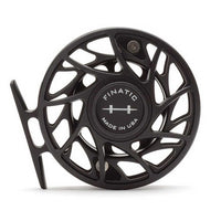 Hatch Gen 2 Finatic Reels- 4 Plus - Black/Silver - Back