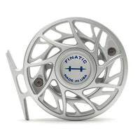 Hatch Gen 2 Finatic Reels- 4 Plus - Clear/Blue - Back