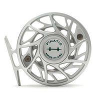 Hatch Gen 2 Finatic Reels- 4 Plus - Clear/Green- Back