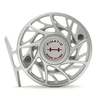 Hatch Gen 2 Finatic Reels- 4 Plus - Clear/Red - Back