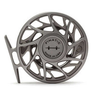 Hatch Gen 2 Finatic Reels- 4 Plus - Gray/Black - Back