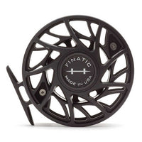 Hatch Finatic Gen 2 Fly Reels - 7 Plus - Black/Silver