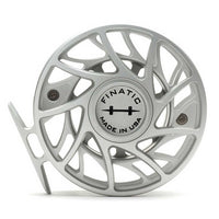 Hatch Finatic Gen 2 Fly Reels - 7 Plus - Clear/Black