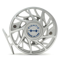 Hatch Finatic Gen 2 Fly Reels - 7 Plus - Clear/Blue