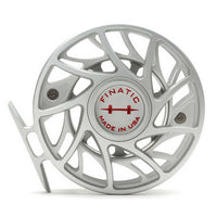Hatch Finatic Gen 2 Fly Reels - 7 Plus - Clear/Red