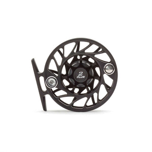 Hatch Gen 2 2 Plus Finatic Large Arbor Reel - Black / Silver