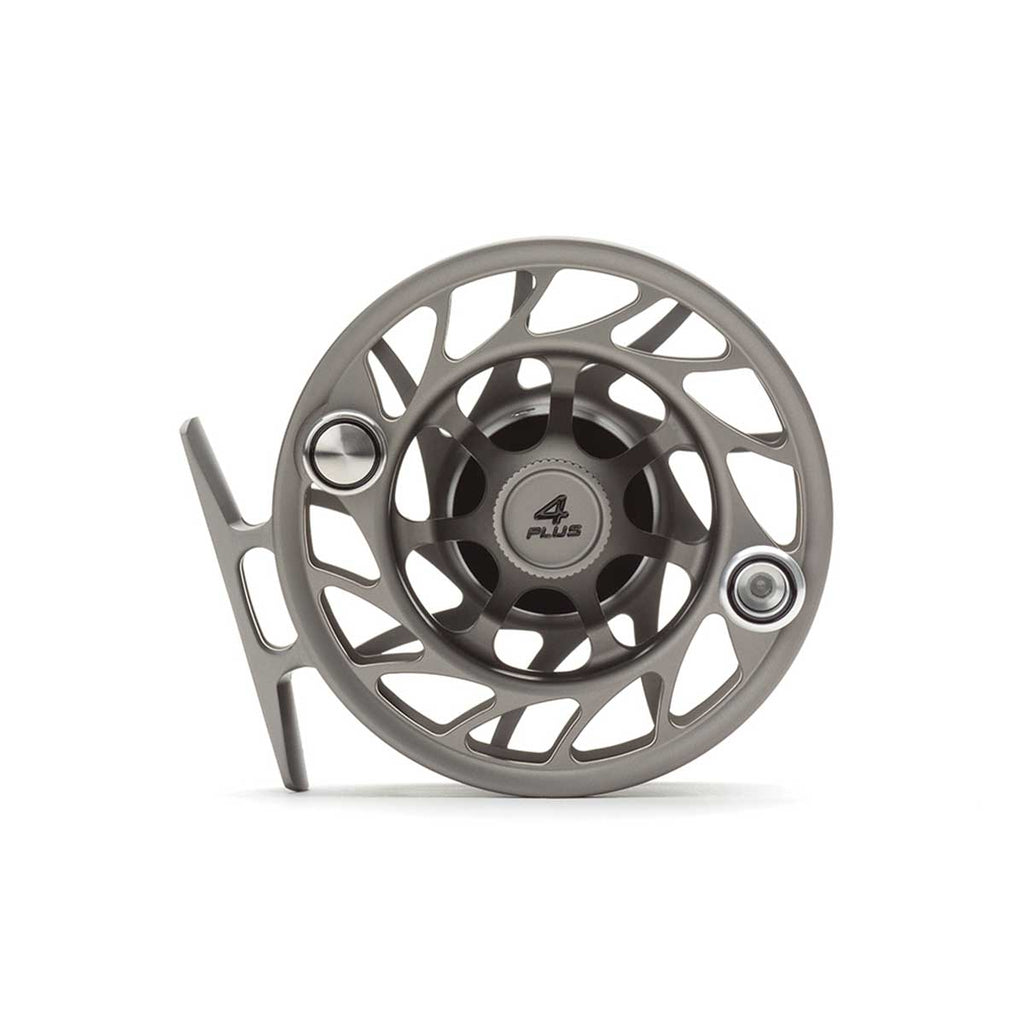 Hatch Gen 2 4 Plus Finatic Large Arbor Reel - Gray / Black