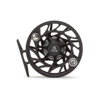 Hatch Gen 2 5 Plus Finatic Large Arbor Reel - Black / Silver