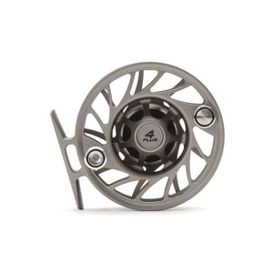 Hatch Gen 2 4 Plus Finatic Mid Arbor Reel - Gray / Black