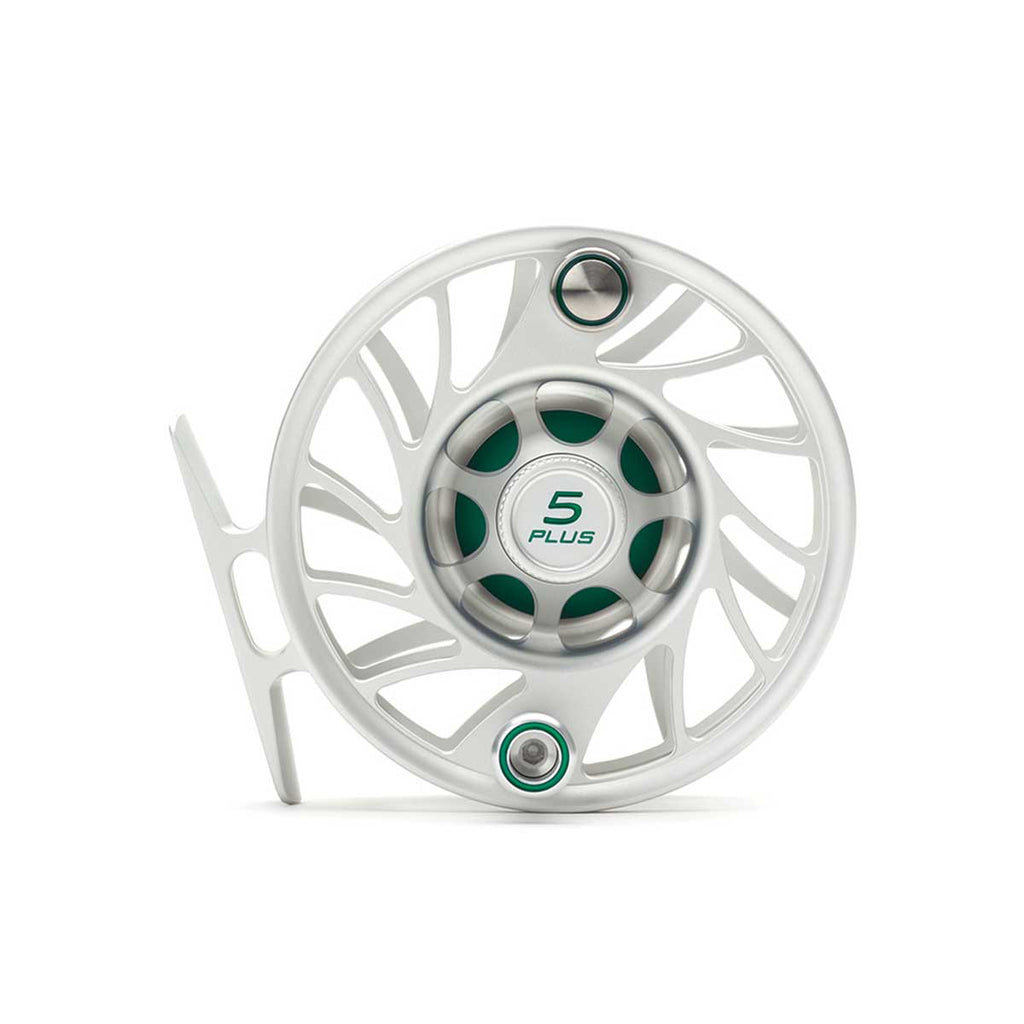 Hatch Gen 2 5 Plus Finatic Mid Arbor Reel - Clear / Green
