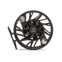 Hatch Gen 2 7 Plus Finatic Mid Arbor Reel - Black / Silver