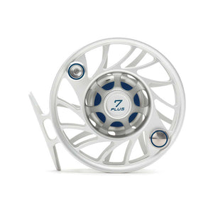 Hatch Gen 2 7 Plus Finatic Mid Arbor Reel - Clear / Blue
