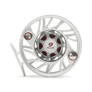 Hatch Gen 2 9 Plus Finatic Mid Arbor Reel - Clear / Red