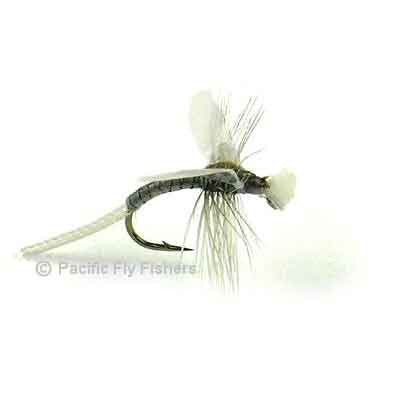 Hatching Midge - Gray - Pacific Fly Fishers