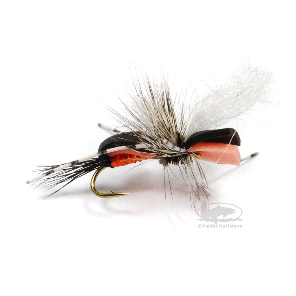 Hippie Stomper Fly Fishing Fly - Orange