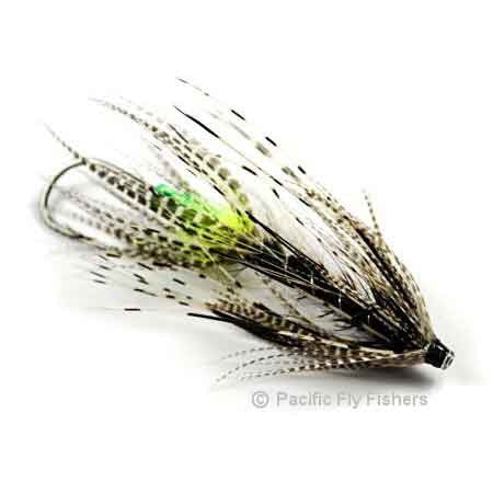 Hobit Spey - Black Green Butt - Pacific Fly Fishers