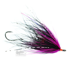 Hoh Bo Spey - Cerise and Black - Steelhead Fly