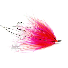 Hoh Bo Spey - Orange and Pink - Steelhead Fly