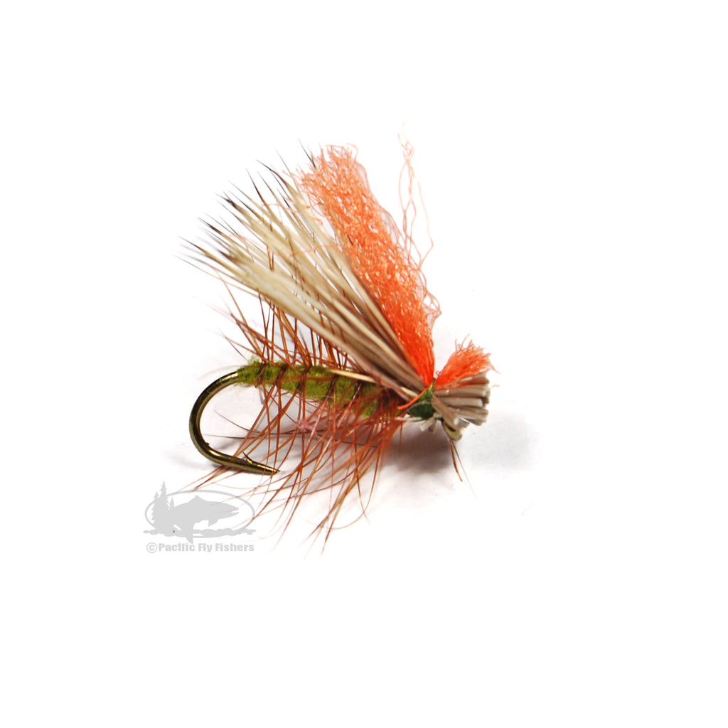 Hot Wing Caddis - Olive - Dry Fly