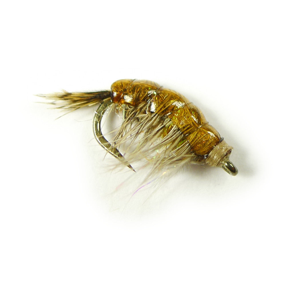 Jon's Hot Spot Czech Scud - Light Orange - Pacific Fly Fishers