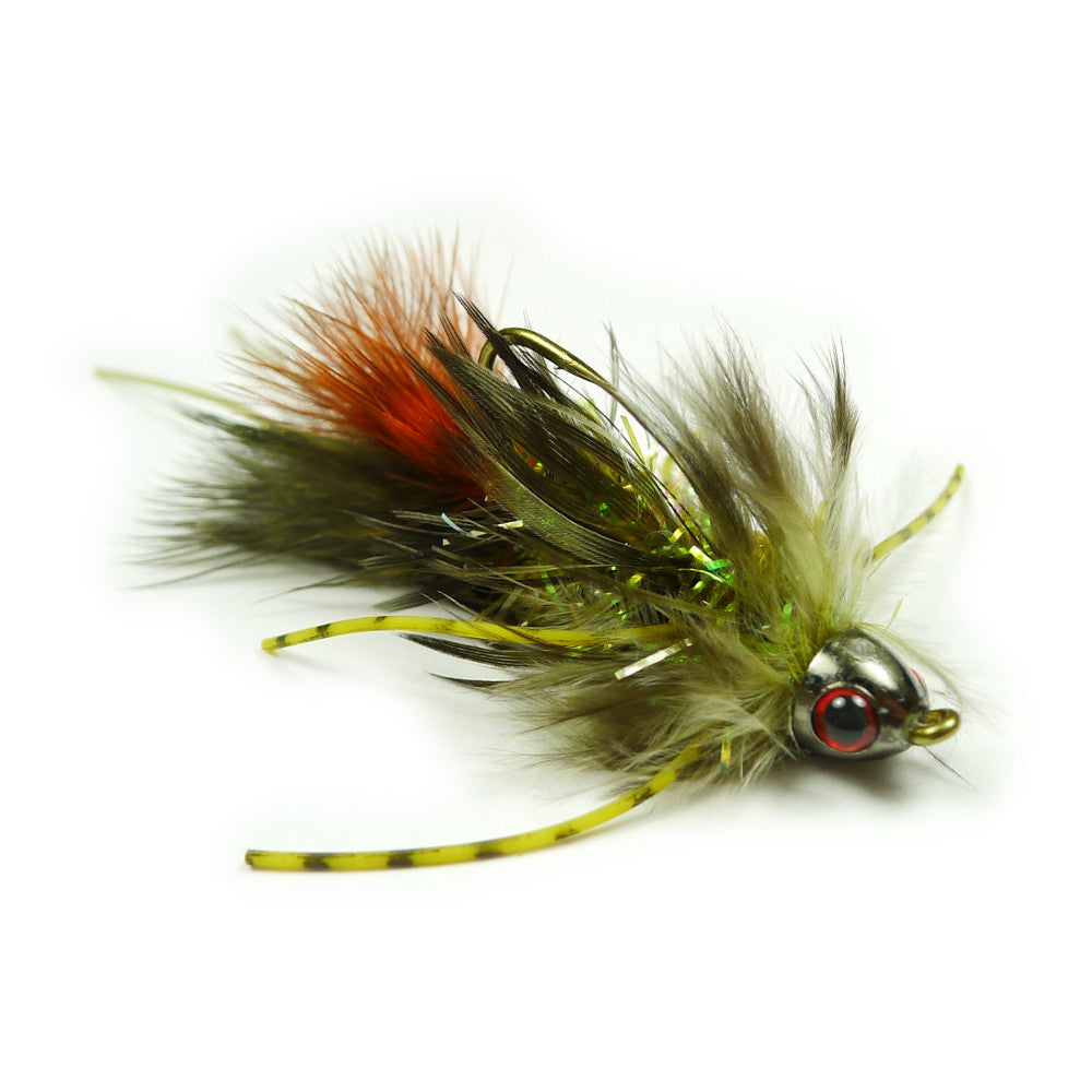 Jon's Lion Bugger - Olive - Pacific Fly Fishers