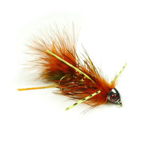 Jon's Lion Bugger - Orange - Pacific Fly Fishers