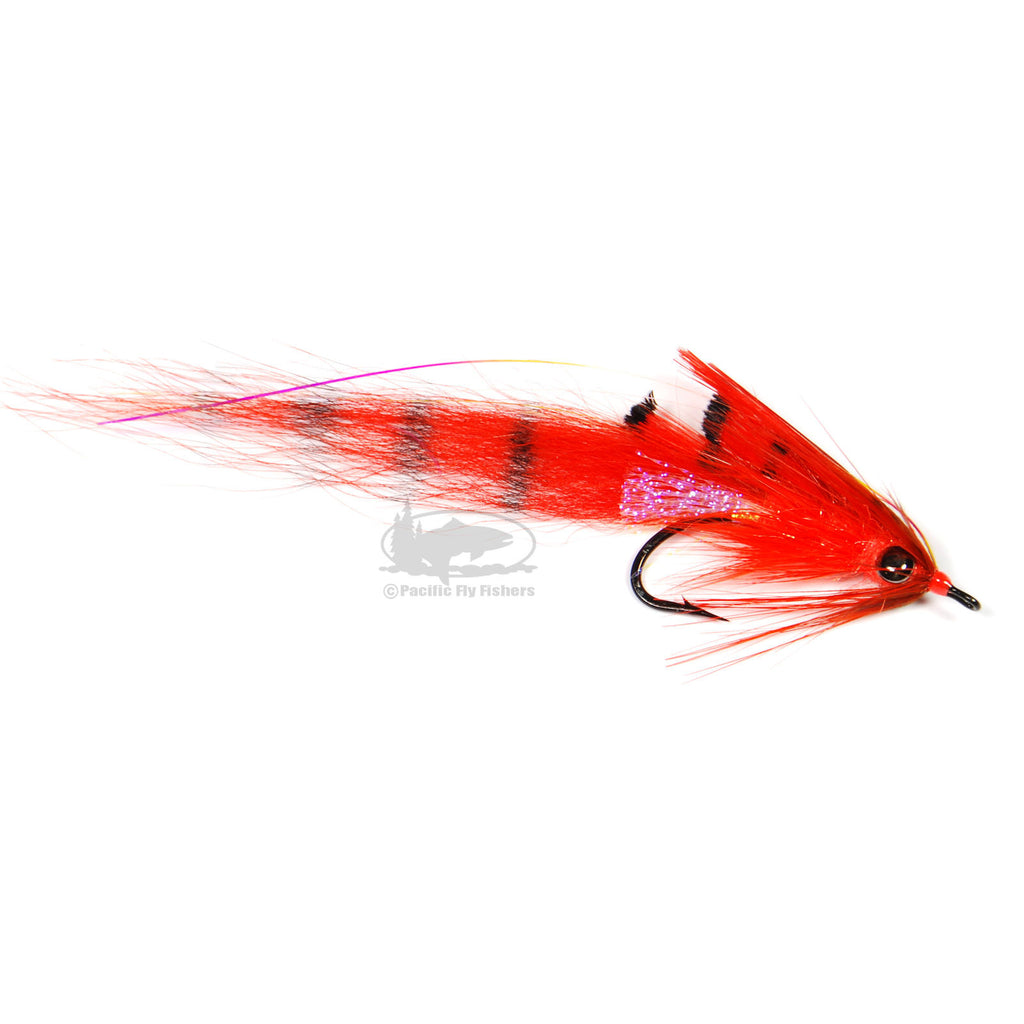 Jon's Motion Prawn - Orange - Steelhead Fly