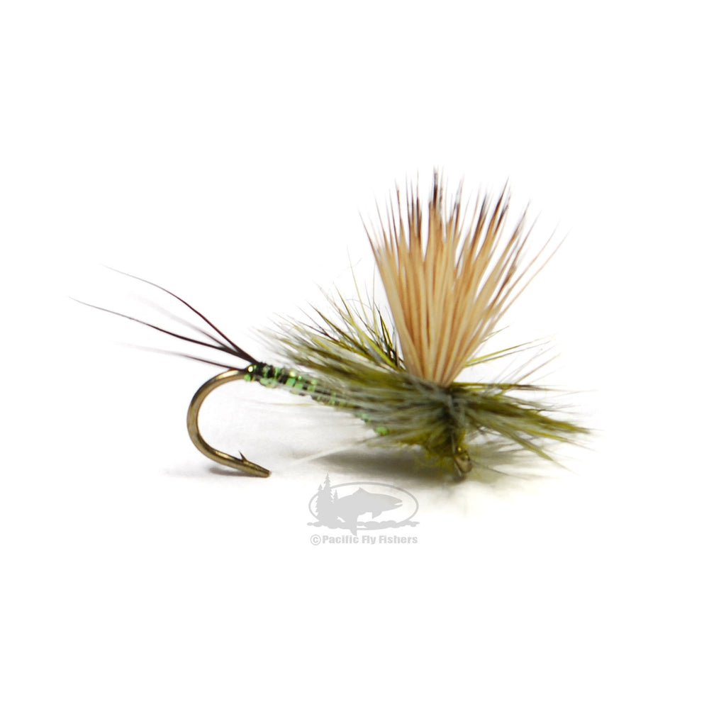 Keller's Rocky Mountain Mint - Olive - Dry Fly