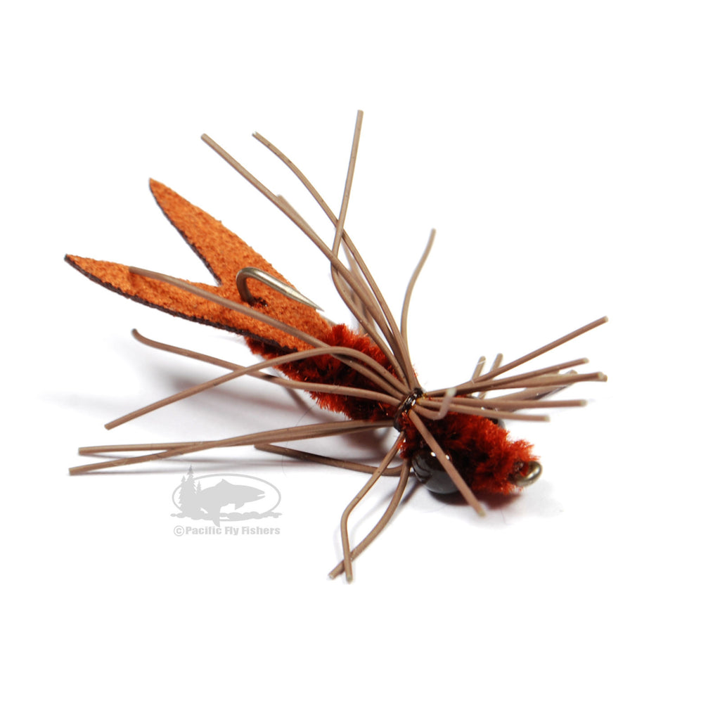 Kraft's Clawdad - Brown - Crawdad Fly