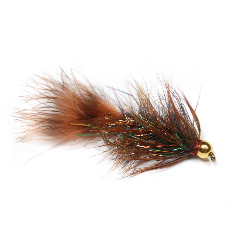 Lite Brite Bugger - Brown - Pacific Fly Fishers