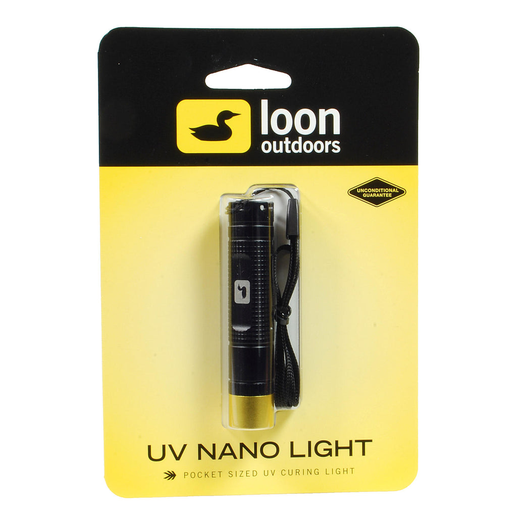 Loon UV Nano Light - UV Curing Adhesives - Fly Tying Tools