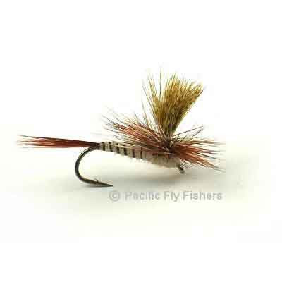 March Brown Parachute - Pacific Fly Fishers