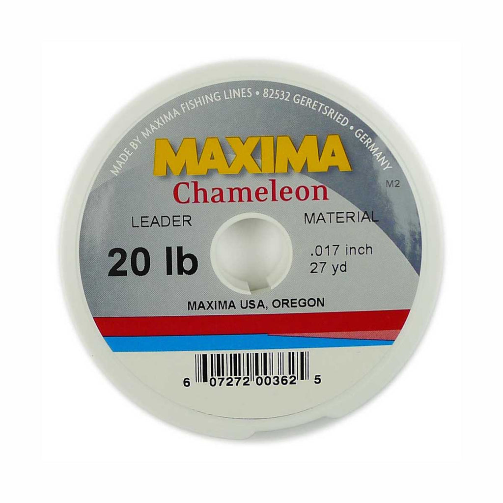 Maxima Chameleon Leader Spool - Pacific Fly Fishers