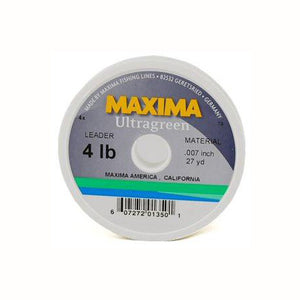 Maxima Ultragreen Leader Spool - Pacific Fly Fishers